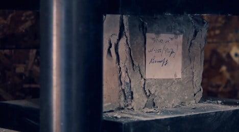 испытания кубика бетона на прочность