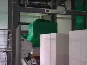 упаковка газоблоков, завод