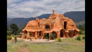 африканский дом из глины