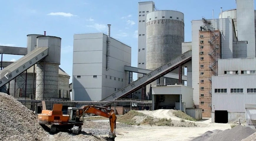 цементный завод