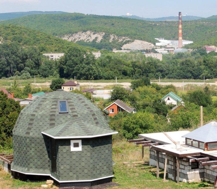 сферический дом в краснодарском крае