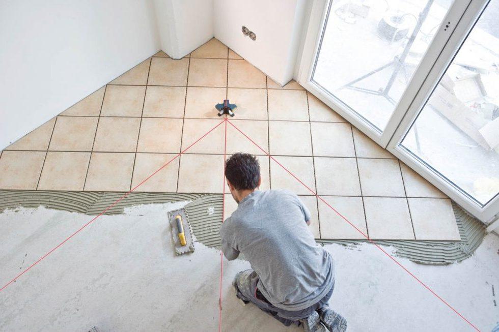 Последовательность работ во время укладки плитки своими руками